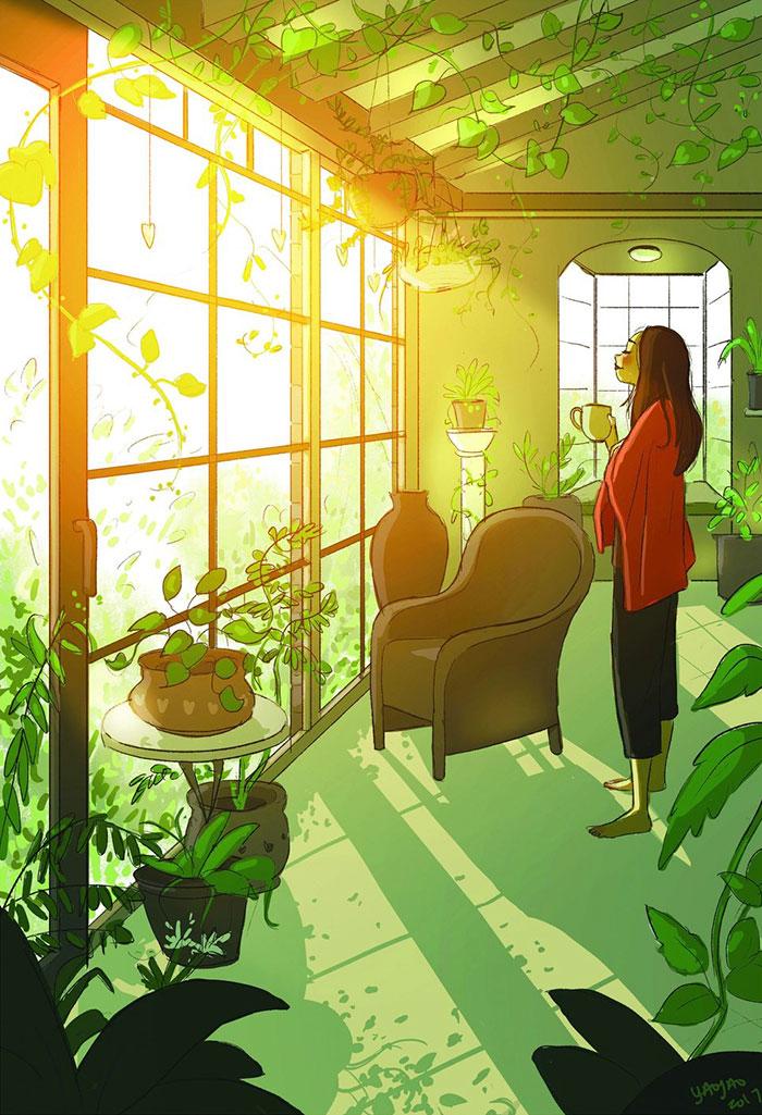 AD-Happiness-Living-Alone-Illustrations-Yaoyao-Ma-Van-As-16.jpg