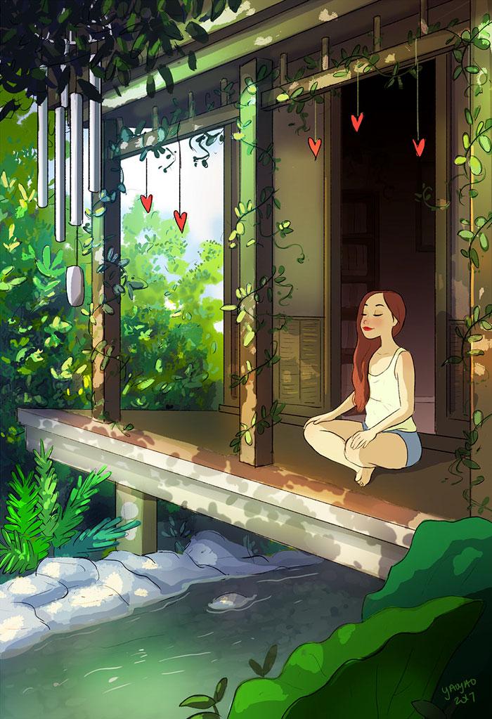 AD-Happiness-Living-Alone-Illustrations-Yaoyao-Ma-Van-As-17.jpg